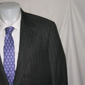 Brooks Brothers Hand Tailored Super 120 Suit 42R